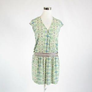 Color Block Paris green dress FR38 8